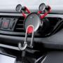 Kép 1/3 - Baseus YY szellőzőrácsos autós telefontartó ajándék USB-C kábellel