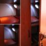 Kép 4/8 - Mozgásérzékelő lámpa, LED relflektor, fali lámpa