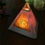 Kép 6/13 - Színváltós piramis óra asztali óra
