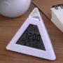 Kép 9/13 - Színváltós piramis óra asztali óra